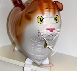 Folienballon Airwalker Katze