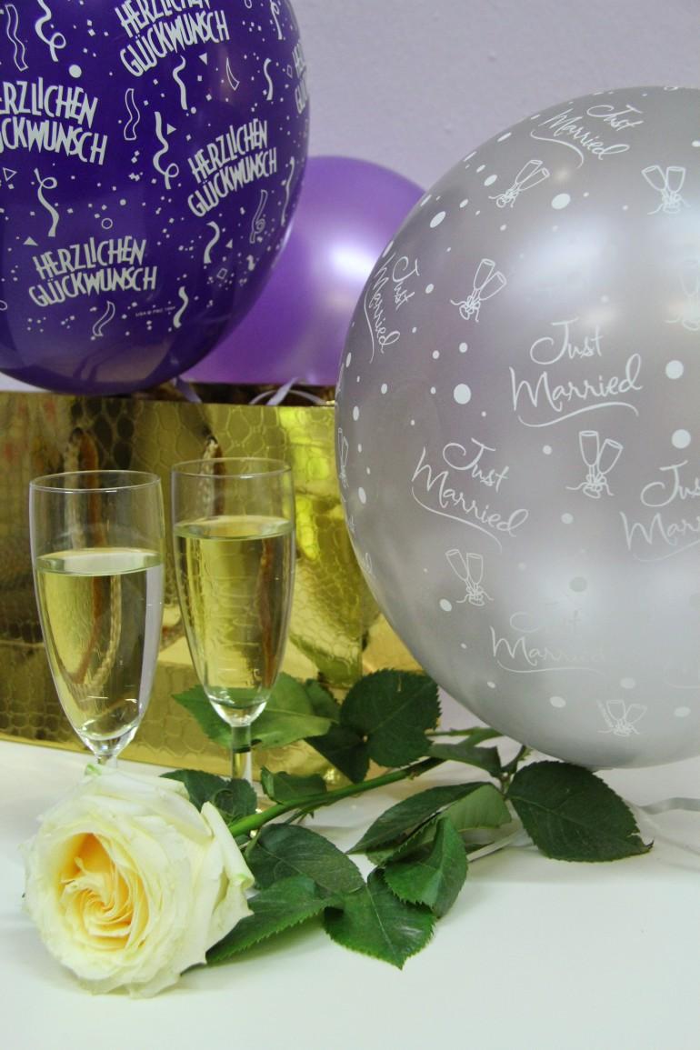 Hochzeitsluftballons