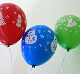 Weihnachtsluftballons