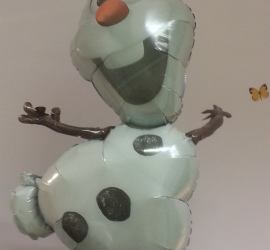 Folienballon Olaf