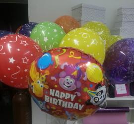 bunte Kinderluftballons