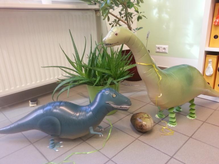 Airwalker Dinosaurier