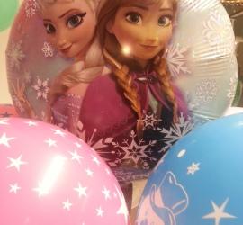 Luftballonstrauss Frozen