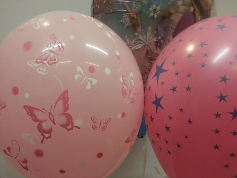 Latexballons rosa