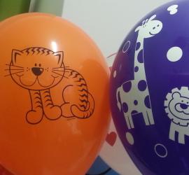Latexballon Katze