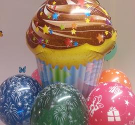 Folienballon Cupcake