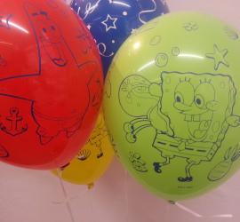Latexballon Sponge Bob Patrick