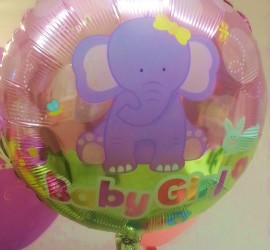Folienballon Baby Elefant