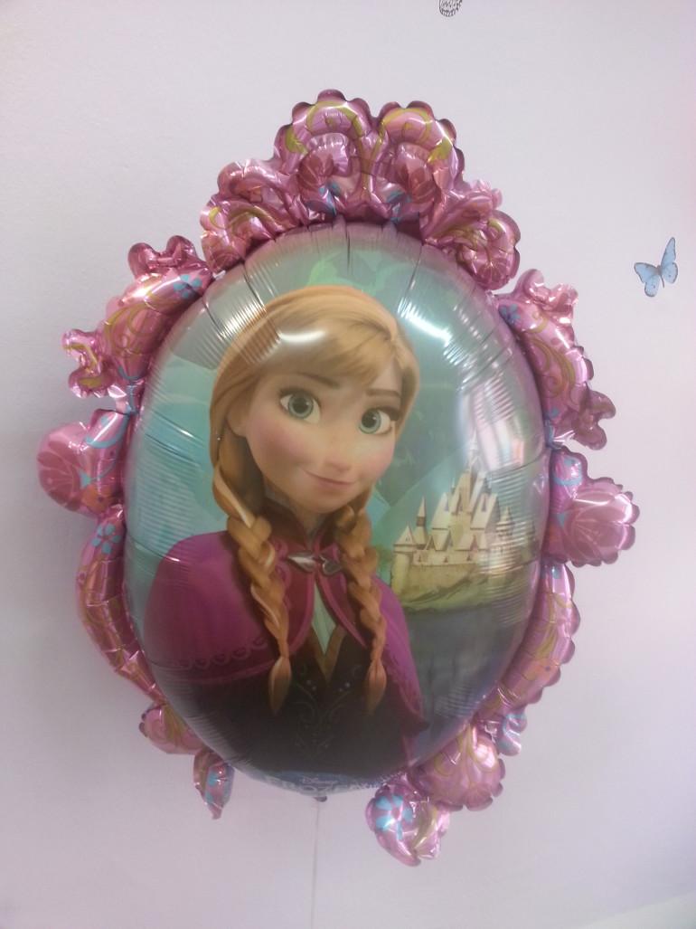 Folienballon Prinzessin Anna