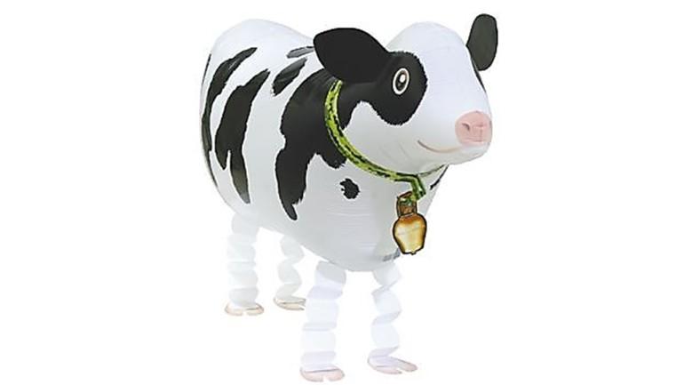 Airwalker Kuh schwarz weiß gefleckt