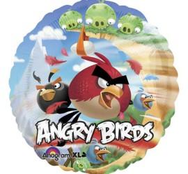Folienballon Angry Birds Gruppe