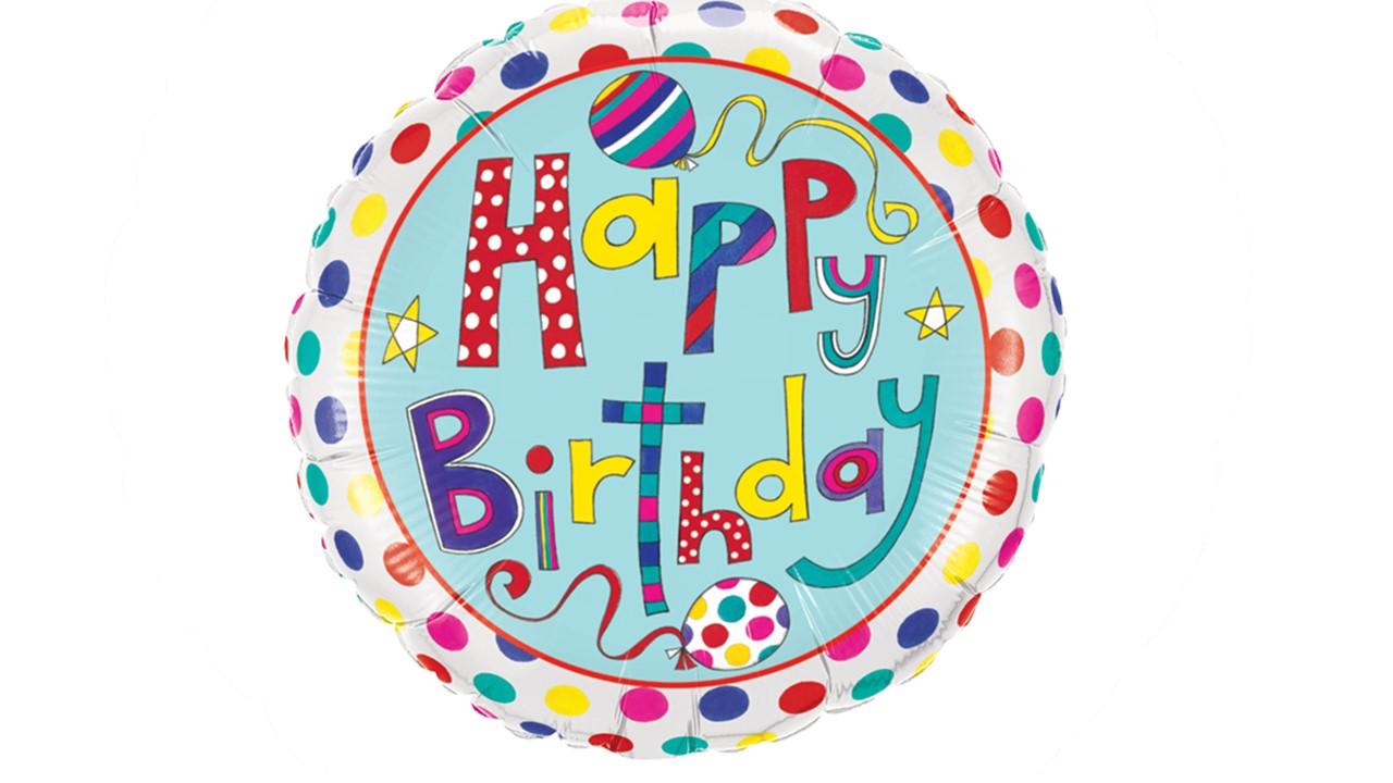 luftballons happy birthday bunt butterflyballoons. Black Bedroom Furniture Sets. Home Design Ideas
