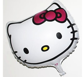 Folienballon Hello Kitty Kopf
