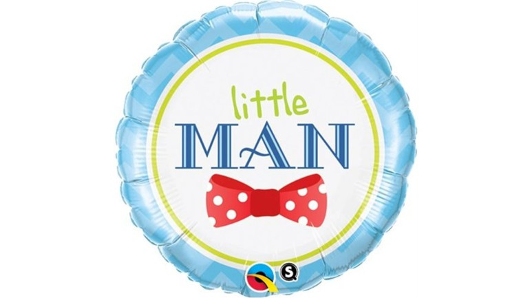 Folienballon Little Man blau