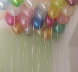 Latexballons bunt