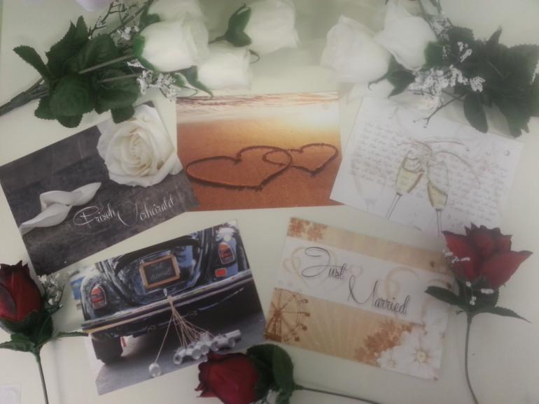 Karten Hochzeit diverse