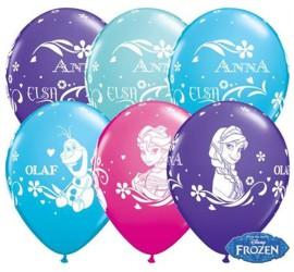 Latexballons Frozen diverse