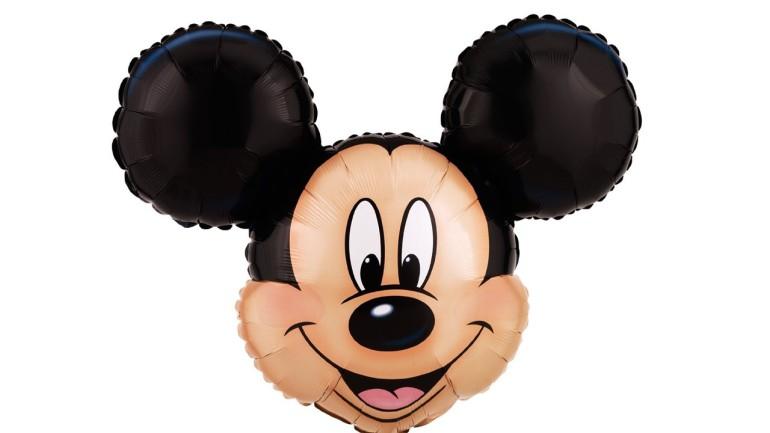 Folienballon Micky Maus Kopf