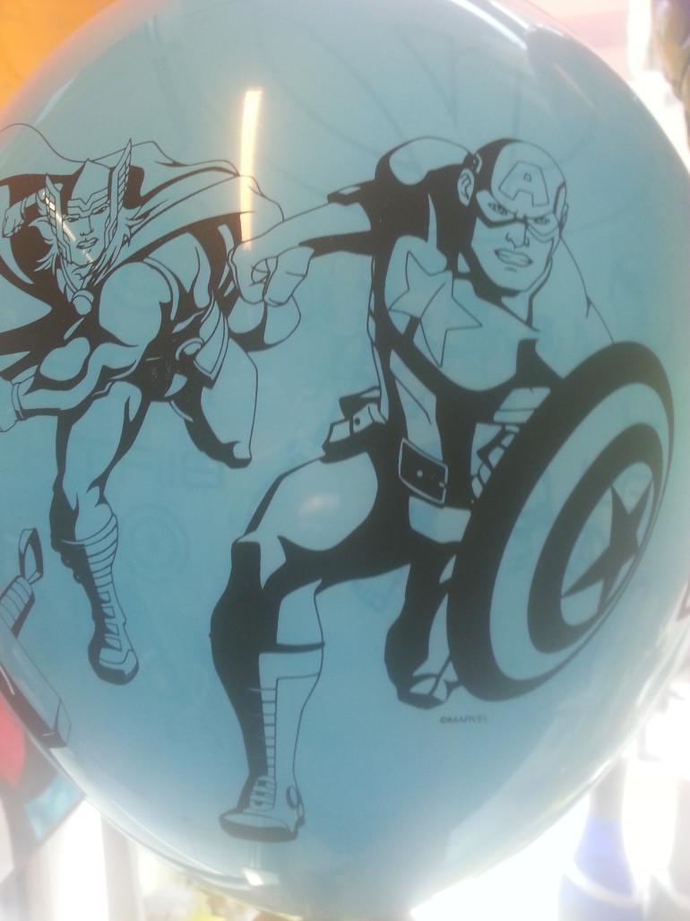 Latexballon blau Avengers