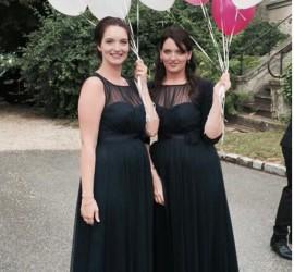 Latexballons weiß rosa für Hochzeit