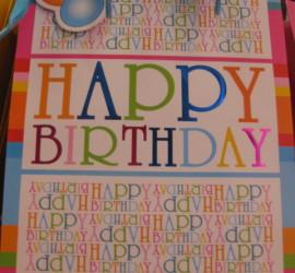 Geschenksackerl Happy Birthday
