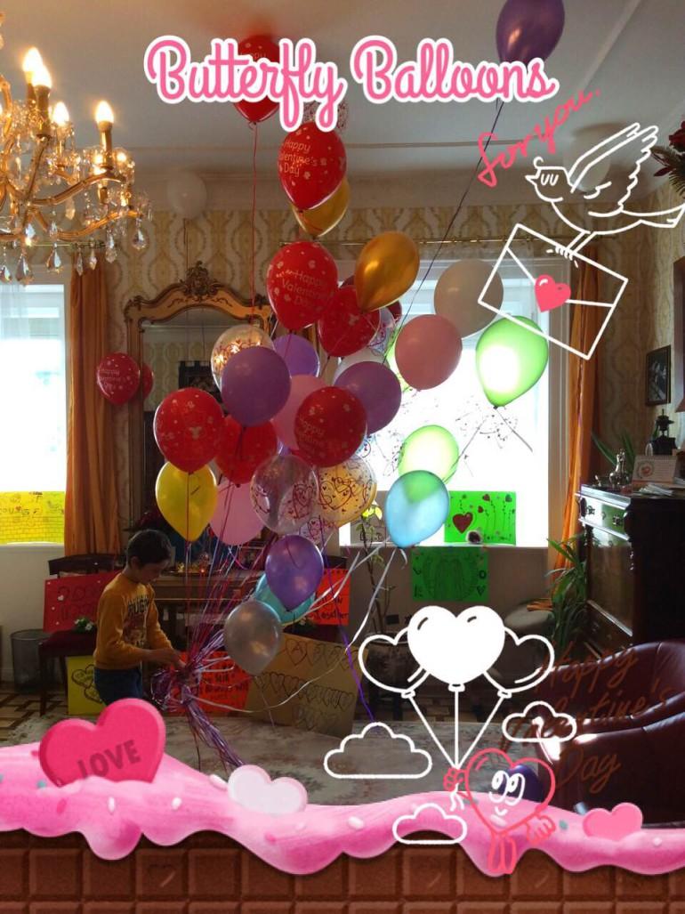 Latexballons Partydekoration bunt