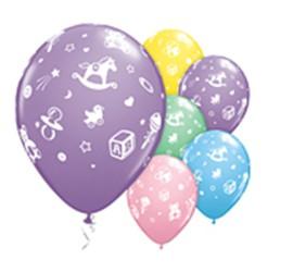 Latexballons Spielzeug diverse Farben