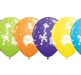 Latexballons Tiere diverse Farben