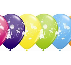 Latexballons Tierparty diverse Farben