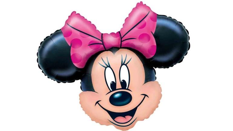Folienballon Minnie Maus Kopf