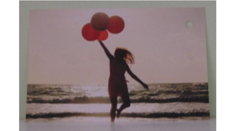 Flugkarte Luftballons
