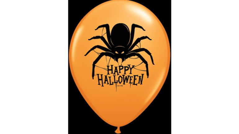 Latexballon Spider Happy Halloween