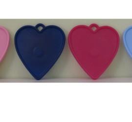 Luftballonhalter Herzen diverse