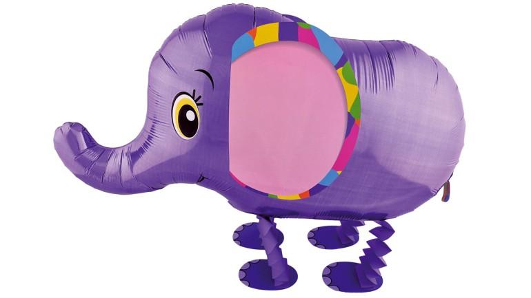 Airwalker Elefant lila