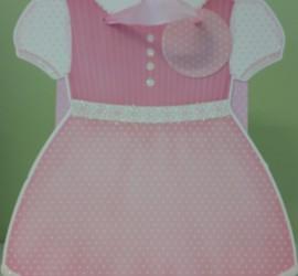 Geschenksackerl rosa Kleid