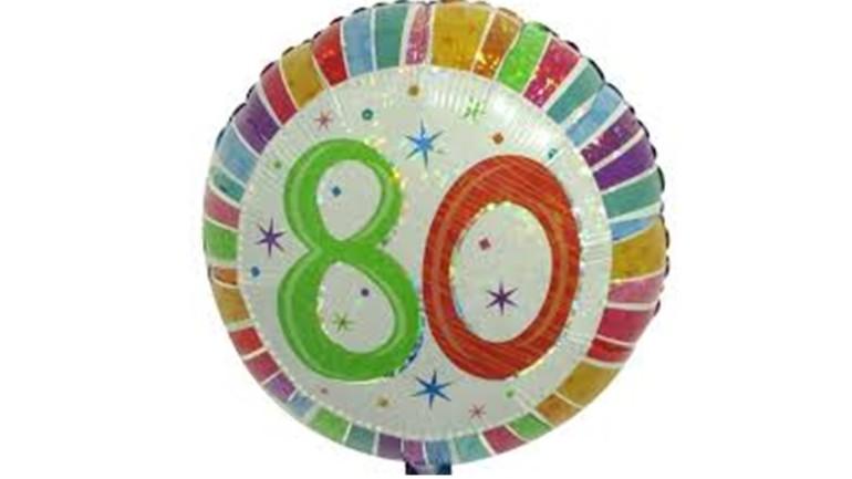 Folienballon 80