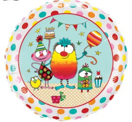 Folienballon Geburtstagsparty