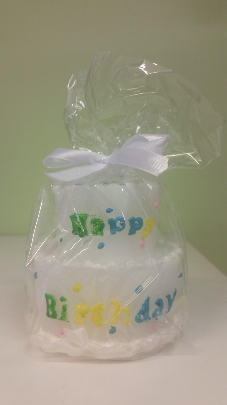 Kerze Happy Birthday