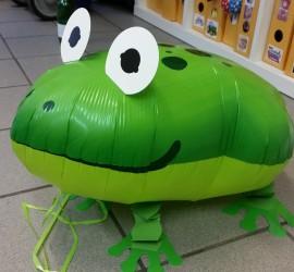 Airwalker Frosch