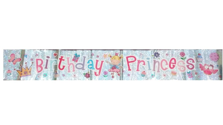 Banner Birthday Princess