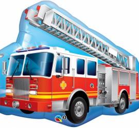 Folienballon Feuerwehrauto