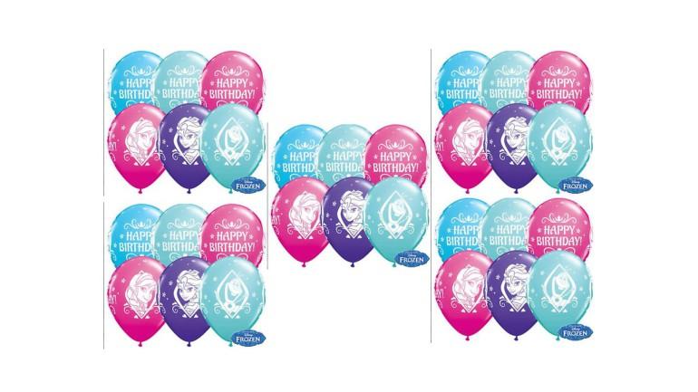 Latexballons Happy Birthday Frozen