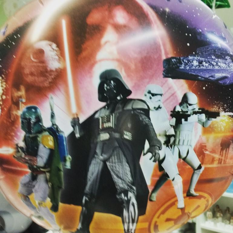 Folienballon Starwars Die dunkle Seite der Macht