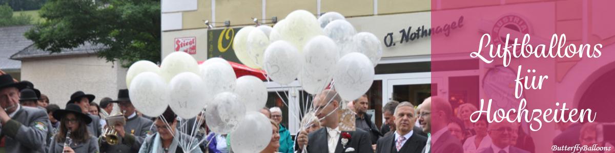Slider Hochzeit Luftballons