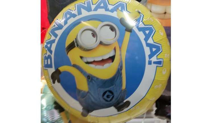 Folienballon Minion Banana