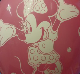 Luftballon Minnie Mouse