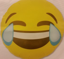Folienballon Emoji Crying Laughing