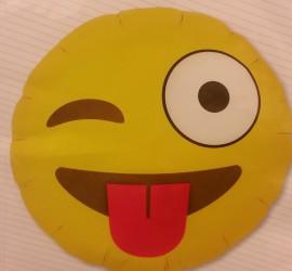 Folienballon Emoji Winking