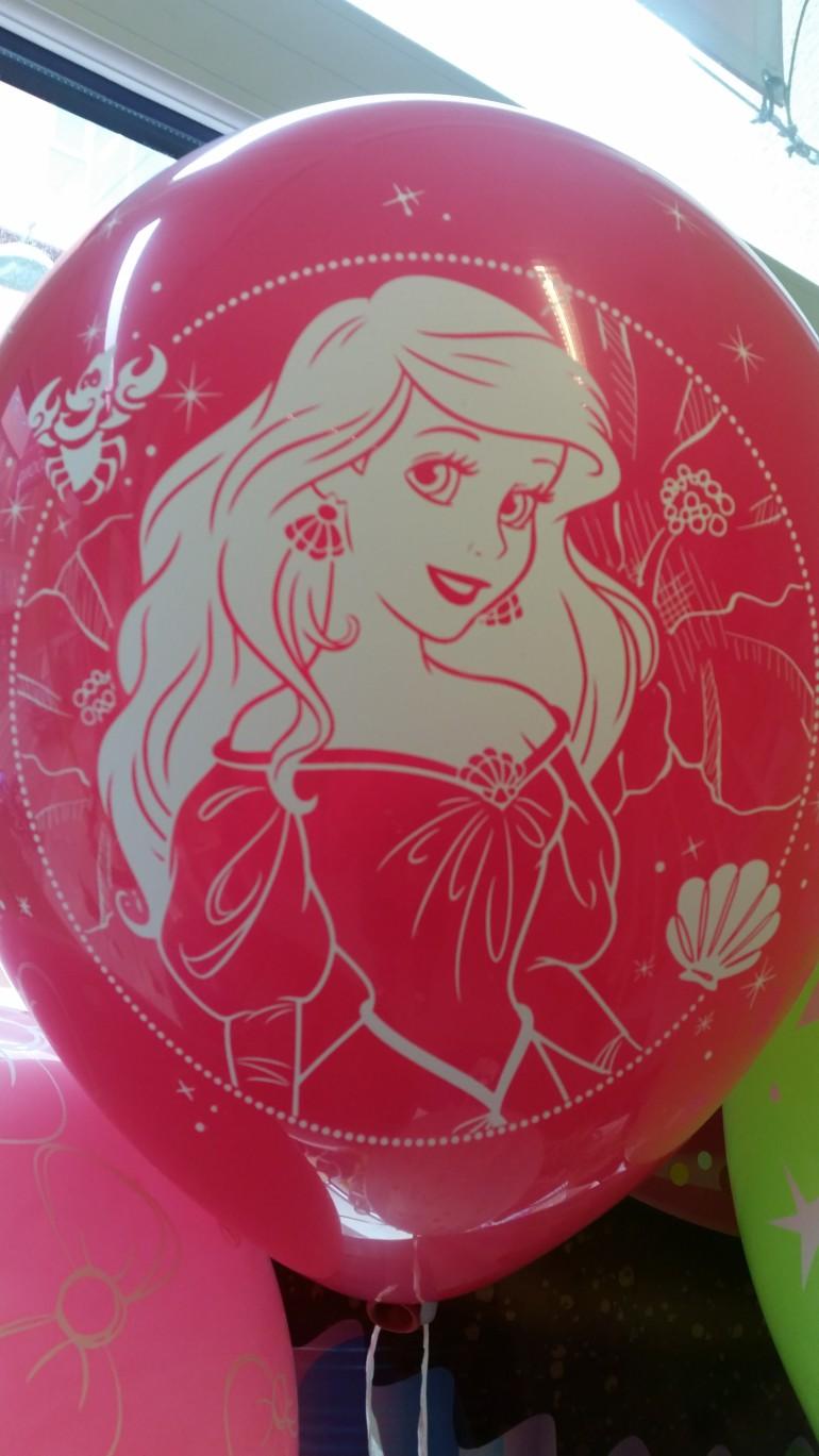 Latexballon mit Arielle