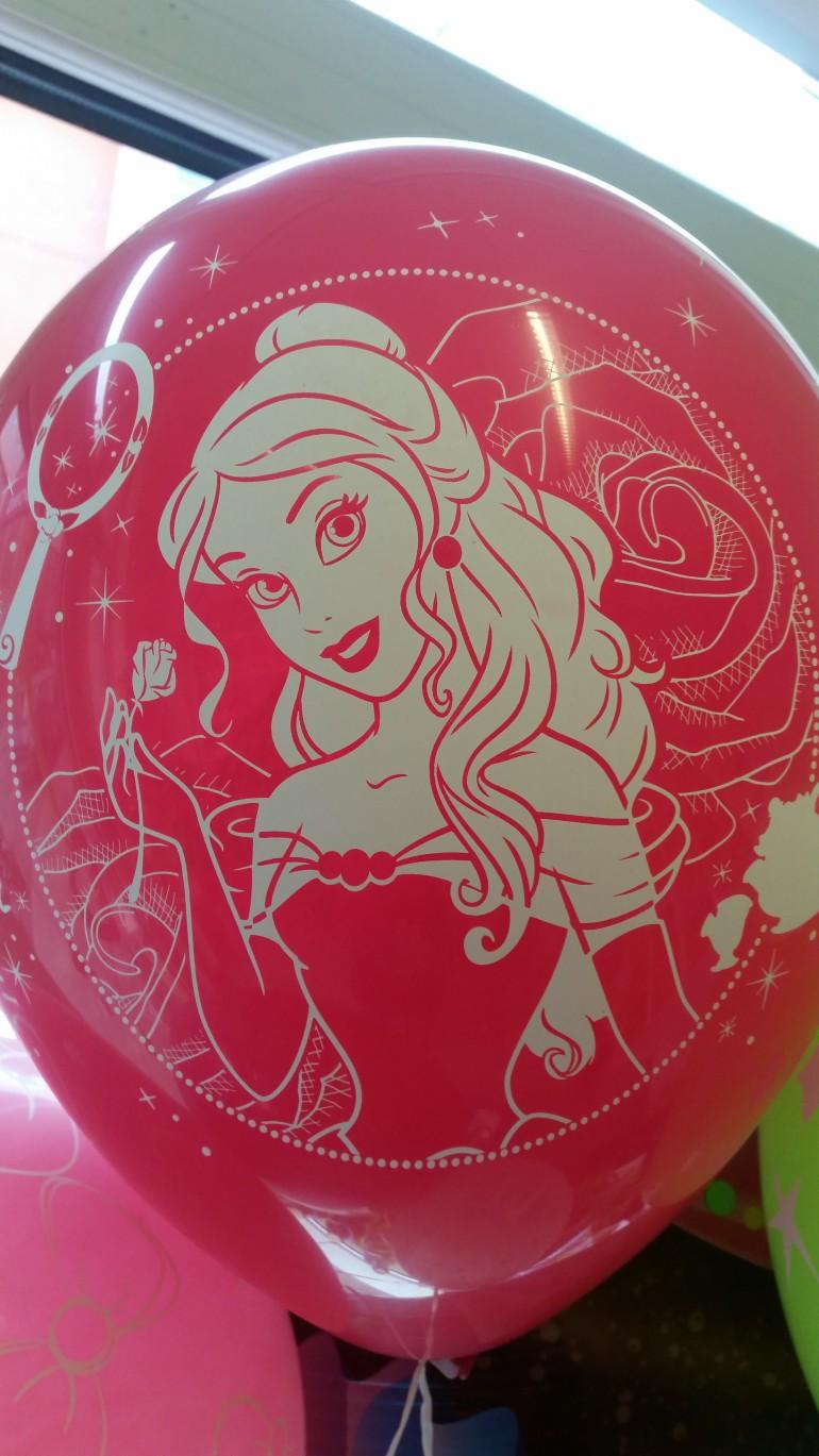 Latexballon mit Belle